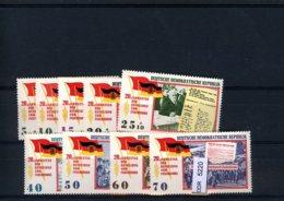 DDR, Xx, 5 Lose U.a. 1084-1086 - Neufs