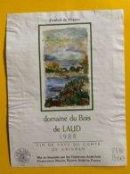 14041 - Domaine Du Bois De Laud 1988 Vin De Pays Du Comté De Grignan - Languedoc-Roussillon