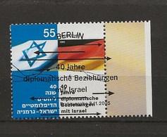 Relations Avec Israël 40 Ans. - Gebruikt