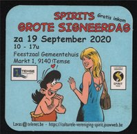 Bierviltje Spirits Grote Signeerdag Temse 2020 (Hec Leemans Zita - Lavas) - Boeken, Tijdschriften, Stripverhalen