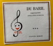14044 - 21e Giron Des Chanteurs De L'Aubonne Saint-Prex 1990 Salvagnin Du Baril - Other
