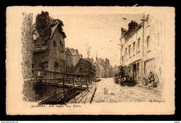 GRAVURE - AMIENS - RUE DU DON  - ILLUSTRATEUR MAYEUR - Vieux Papiers