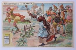 Kaufmannsbilder, Nr.3, Knorr Nahrungsmittelfabriken, Die 7 Schwaben 1910 ♥(8395) - Kaufmanns- Und Zigarettenbilder