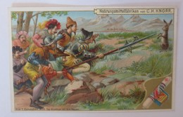 Kaufmannsbilder, Nr.6, Knorr Nahrungsmittelfabriken, Die 7 Schwaben 1910 ♥(9610) - Kaufmanns- Und Zigarettenbilder