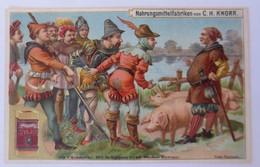 Kaufmannsbilder, Nr.2, Knorr Nahrungsmittelfabriken, Die 7 Schwaben 1910♥(29412) - Kaufmanns- Und Zigarettenbilder