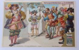 Kaufmannsbilder, Nr.5, Knorr Nahrungsmittelfabriken, Die 7 Schwaben 1910♥(43502) - Kaufmanns- Und Zigarettenbilder