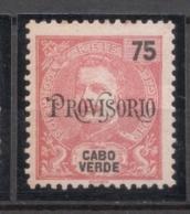 Cabo Verde, 1902/3, # 76, MH - Islas De Cabo Verde