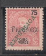 Cabo Verde, 1913/4, # 154 Dent. 11 1/2, MNG - Islas De Cabo Verde