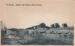 PORTO TORRES - SASSARI - RUDERI DEL TEMPIO DELLA FORTUNA - Sassari
