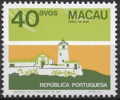 Macau Macao – 1982 Public Buildings 40 Avos No Date Variety - Used Stamps