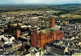 12 - Rodez - La Cathédrale Notre Dame (XIVe - XVe Siècles) Vue Du Ciel - Rodez