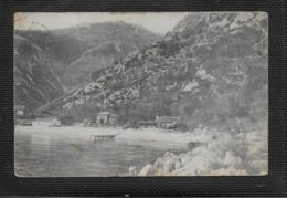 """AK 0483  Medvea Bei Lovrana - Cafe-Restaurant """" Fischerhütte """" / K. K. Österreich Um 1912 - Kroatien"""