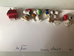 Fève Snoopy Classique Le Lot 2011 - Cartoons