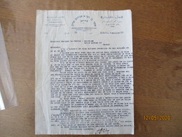 TEHERAN MAGASIN GOLESTAN ACHER A. CHALOM COURRIER DU 20/4/1928 - Facturas & Documentos Mercantiles