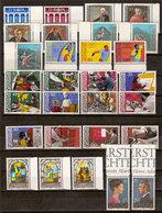 (Fb).Liechtenstein.1984.Serie Complete Nuove,gomma Integra,MNH (65-20) - Liechtenstein