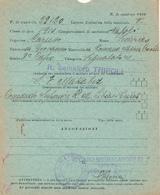 1942 LA POSTA DAI FARI R SEMAFORO TRIPOLI - Military Mail (PM)