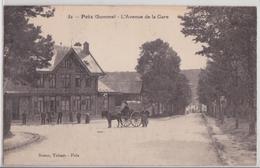 POIX (Somme) - L'Avenue De La Gare Calèche - Poix-de-Picardie