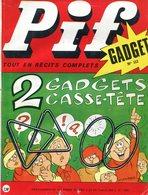 Pif Gadget N°112 - Loup-Noir - Rahan - Pif Gadget