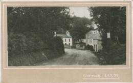 Isle Of Man Postcard Garwick - Isola Di Man (dell'uomo)