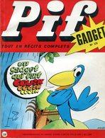Pif Gadget N°110 - Teddy Ted - Docteur Justice - Pif Gadget