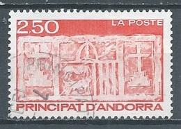 Andorre Français YT N°411 Ecu Primitif Des Vallées Oblitéré ° - Used Stamps