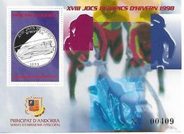 ANDORRE  BLOCS FEUILLETS  JEUX OLYMPIQUES DE NAGANO 1998 - Winter 1998: Nagano