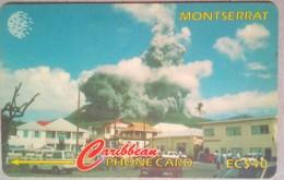 79CMTA Ash Eruption Soufriere Hills EC$40 - Montserrat