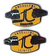 DEPOTS - D4 - ANGOULEME - SAINTES - MACHINES DIESEL Et ELECTRIQUE - Verso : SM - TGV