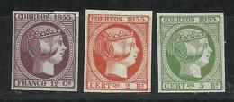 G2-LOTE SELLOS CLASICOS ISABEL II FALSOS SEGUI.1853.SPAIN STAMPS CLASSIC 1853 ISABELLA II. ENVIO LOTE IGUAL,SIN DEFECTOS - Probe- Und Nachdrucke