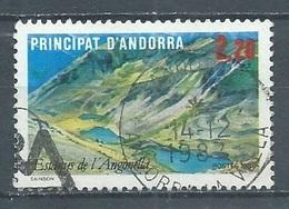 Andorre Français YT N°351 Lac D'Angonella Oblitéré ° - Used Stamps