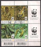 Slowenien  (2011)  Mi.Nr.  904 - 907  Gest. / Used  (1bl-03.1) - Slovénie