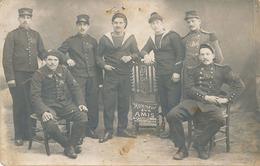 PERPIGNAN - CARTE PHOTO - SOLDAT DU QUARTIER SAINT JACQUES (53 Eme 28 Eme 56eme 2eme Marins) - Perpignan