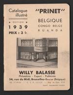 Catalogue PRINET Belgique Et Colonies 1939 - België