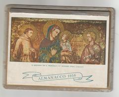 V45-Calendario-Almanacco 1958 Con 31 Pagine E Retro Copertina In Carton - Calendriers