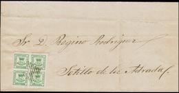 C00172 ESPAÑA. SELLOS DE 1/4 R De 1873. EDIFIL 130. PRIMERA REPÚBLICA - 1873 1. Republik