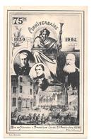 75 ème Anniversaire 1830 1905 Indépendance Belge Belgique Rue De Flandres à Bruxelles Jeudi 23 Septembre 1830 Non Circ - Other