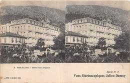 20-7233 : EDITION ELD. VUE STEREOSCOPIQUE. BEAULIEU. HOTEL DES ANGLAIS. - Beaulieu-sur-Mer