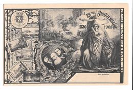 75 ème Anniversaire 1830 1905 Indépendance Belge Belgique Multivues Non Circulée - Other