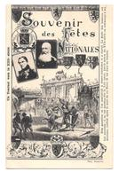 75 ème Anniversaire 1830 1905 Indépendance Belge Belgique Souvenir Fêtes Nationales Tournoi 13 Siècle Non Circulée - Other