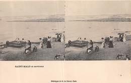 20-7236 : EDITION ELD. VUE STEREOSCOPIQUE. SAINT-MALO. - Saint Malo