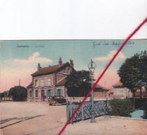 CP 62 - LAPUGNOY -  La  Rue De La Gare - France