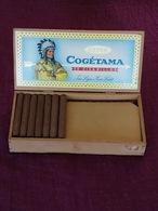 Ancienne Boîte De 50 Cigarillos Cogétama (partiellement Entamée : Il Reste Environ 40 Cigarillos) - Étuis à Cigares