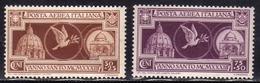 ITALIA REGNO ITALY KINGDOM 1933 POSTA AEREA AIR MAIL ANNO SANTO HOLY YEAR SERIE COMPLETA COMPLETE SET MNH - Ongebruikt