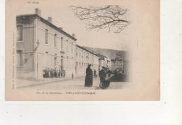 CPA    GRAND COMBE RUE DE LA REPUBLIQUE - France
