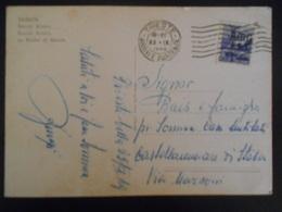 Italie , Trieste çarte De Trieste 1949 Pour çastellaumari - 7. Triest