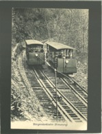 Bürgenstockbahn Kreunzung édit. Karl Engelberger N° 1795  Tramway Train à Crémaillère Funiculaire - NW Nidwald
