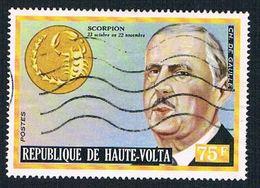 Burkina Faso 318 Used De Gaulle 1973 (BP48306) .. - Burkina Faso (1984-...)