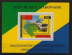Gabon - 1986 - Bloc Feuillet BF N°Yv. 51 - Train - Neuf Luxe ** / MNH / Postfrisch - Gabun (1960-...)