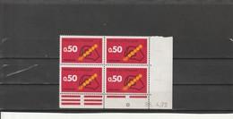 FRANCE  Code Postal Coin Daté 1972  N° 1720** - 1970-1979