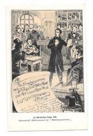 La Révolution Belge 1830 Belgique Louis Hels 1905 Jenneval Déclamant La Brabançonne  Non Circulée - Patriottisch